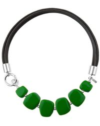 Hobbs - Bright Green 'naomi' Necklace - Lyst