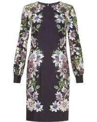 Hobbs - Passiflora Shift Dress - Lyst