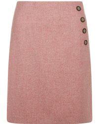 Hobbs - Wrap Skirt - Lyst