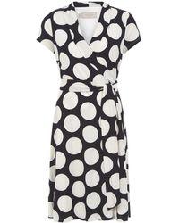 Hobbs - April Wrap Dress - Lyst