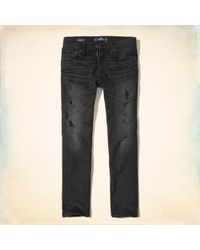 Hollister - Slim Straight Jeans - Lyst