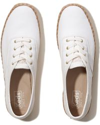 Hollister - Keds Champion Washed Jute Sneaker - Lyst