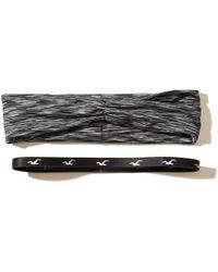 Hollister - Headband 2-pack - Lyst