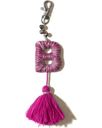 Hollister - Yarn-wrapped Letter Keychains - Lyst