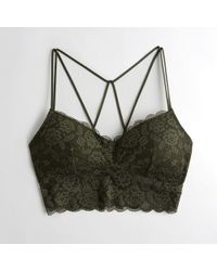 2577692f8e9 Hollister - Girls Strappy Longline Bralette With Removable Pads From  Hollister - Lyst