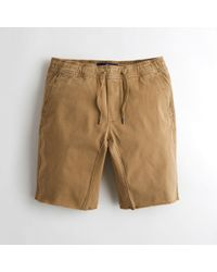 Hollister - Guys Advanced Stretch Jogger Shorts From Hollister - Lyst