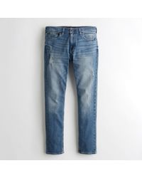 Hollister - Guys Epic Flex Skinny Jeans From Hollister - Lyst