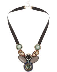 Marella - Statement Bead Necklace - Lyst