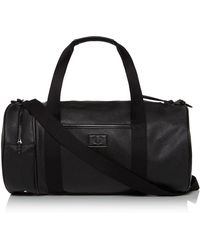 Fred Perry - Saffiano Barrel Bag - Lyst