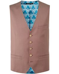 Ted Baker - Men's Palace Slim Fit Debonair Plain Waistcoat - Lyst