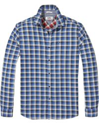 Tommy Hilfiger - Men's Tommy Jeans Washed Check Shirt - Lyst