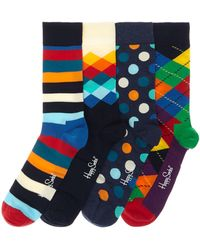 Happy Socks - 4 Pack Socks Gift Set - Lyst