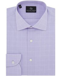 Chester Barrie - Men's Prince Of Wales Check Shirt - Lyst