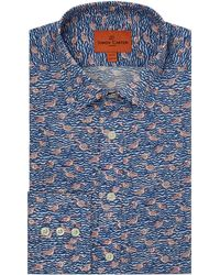 Simon Carter | Men's Liberty Gaggle Print Shirt | Lyst