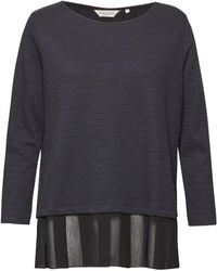 Great Plains | Ripple Jersey Pleated Hem Top | Lyst