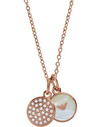 Emporio Armani - Egs2158221 Ladies Necklace - Lyst