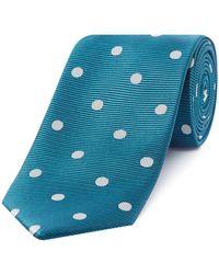 Chester Barrie - White Spot Tie - Lyst