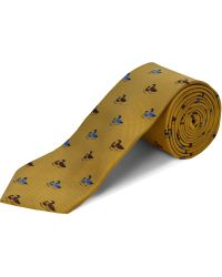 Double Two - Polyester Two Ducks Tie - Lyst