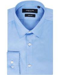 Kenneth Cole - Jet Slim Fit Travel Shirt - Lyst
