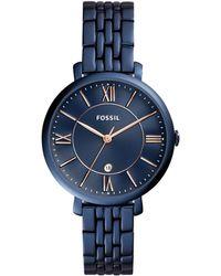Fossil - Es4094 Ladies Bracelet Watch - Lyst