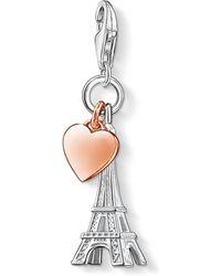 Thomas Sabo | Charm Club Eiffel Tower Charm | Lyst