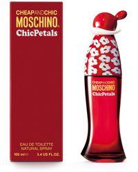 Moschino - Chic Petals Eau De Toilette 100ml - Lyst