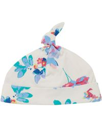 Joules | Baby Girls All Over Floral Hat | Lyst