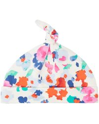 Joules | Baby Girls Floral Print Knot Top Hat | Lyst