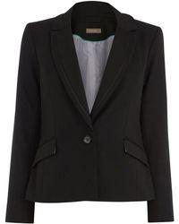Oasis | Camila Split Detail Jacket | Lyst