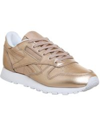 Reebok | Cl Leather Trainers | Lyst