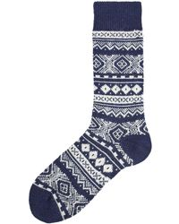 Barbour - Onso Fairisle Sock - Lyst