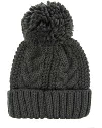 Warehouse - Cable Knit Hat - Lyst