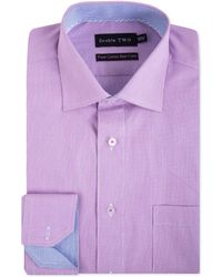 Double Two - Men's Mini Check Patterned Formal Shirt - Lyst