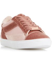 Dune - Elize Mix Material Sport Trainers - Lyst
