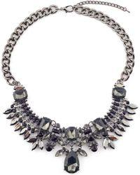 James Lakeland - Crystal Collar Necklace - Lyst