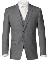 Alexandre Of England - Men's Windsor Grey Sharksin Jacket - Lyst