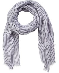 Soaked In Luxury - Striped Scarf - Lyst