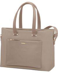 Samsonite - Zalia Shopper Bag Beige - Lyst