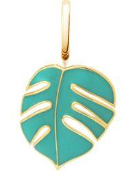 OAK - Mini Monsoon Palm Leaf Pendant Charm - Lyst