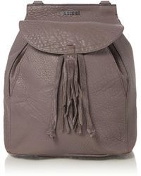 Just Cavalli - Bubble Calf Grey Backpack - Lyst