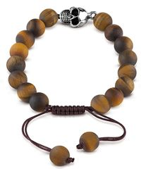Guess | Men`s Tiger Eye Bracelet | Lyst
