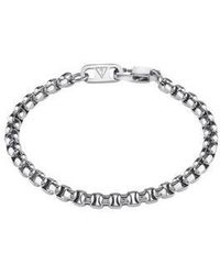 Guess | Men`s Steel Box Chain Bracelet | Lyst