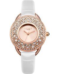 Lipsy - Ladies White Strap Watch - Lyst