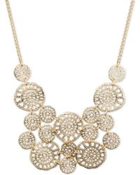 Lonna & Lilly - Filigree Statement Necklace - Lyst