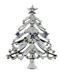 Indulgence Jewellery - Indulgence Christmas Tree Brooch - Lyst