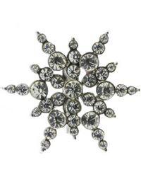 Indulgence Jewellery - Indulgence Snowflake Brooch - Lyst