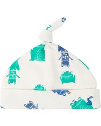 Joules | Baby Boy Frog Print Knot Top Hat | Lyst