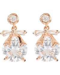 Jacques Vert - Bow Stone Earrings - Lyst