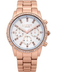 Lipsy - Ladies Bracelet Watch - Lyst