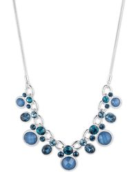 Nine West - Front Long Necklace - Lyst